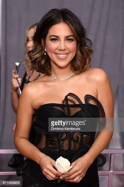 TV personality Liz Hernandez attends the 60th Annual GRAMMY Awards at Madison Square Garden on January 28 2018 in New York City