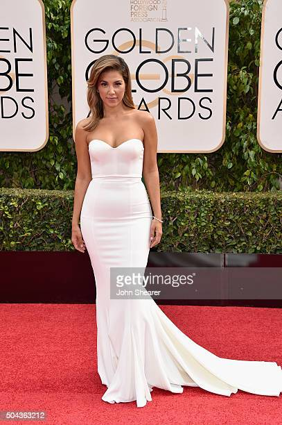 TV personality Liz Hernandez attends the 73rd Annual Golden Globe Awards held at the Beverly Hilton Hotel on January 10 2016 in Beverly Hills...
