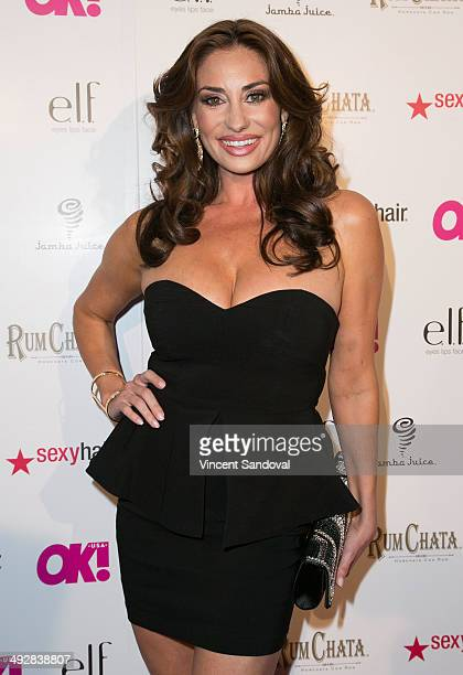 TV personality Lizzie Rovsek attends OK Magazine's So Sexy LA event at Lure on May 21 2014 in Hollywood California