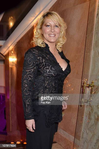 TV personality Loana attends 'The Bests' Awards 2010 Ceremony at the Salons Hoche on December 13 2010 in Paris France