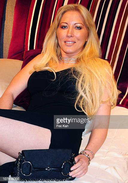 TV personality Loana attends the Luxury Living Launch Party at the Georges V Luxury Living Store on May 5 2010 in Paris France
