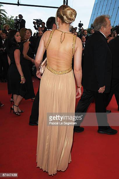 TV personality Loana attends the Vengeance Premiere at the Palais Des Festivals during the 62nd International Cannes Film Festival on May 17 2009 in...