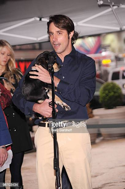 TV personality Lorenzo Borghese attends Mya Hosts North Shore Animal League America's Tour For Life at Times Square on April 27 2010 in New York City