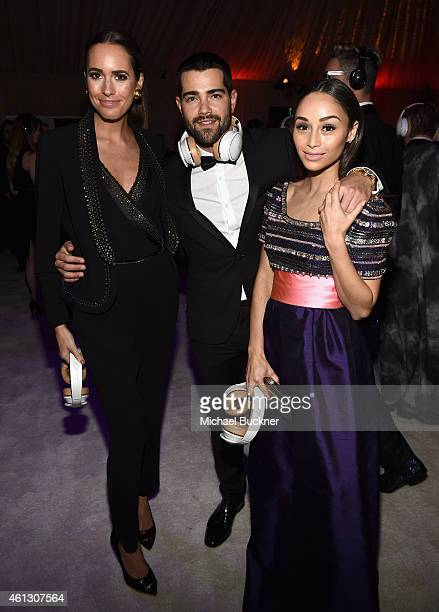 TV personality Louise Roe and actors Jesse Metcalfe and Cara Santana attend the 8th Annual HEAVEN Gala presented by Art of Elysium and Samsung Galaxy...