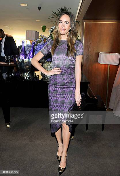 Personality Louise Roe attends Champagne Taittinger celebrate Men In Hollywood at Sunset Tower Hotel on January 17 2014 in West Hollywood California