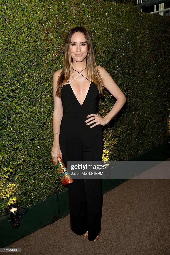 TV personality Louise Roe attends 'Decades of Glamour' presented by BVLGARI on February 25, 2014 in West Hollywood, California.
