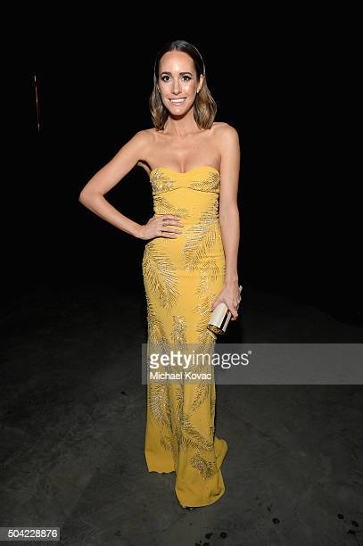 TV personality Louise Roe attends The Art of Elysium 2016 HEAVEN Gala presented by Vivienne Westwood Andreas Kronthaler at 3LABS on January 9 2016 in...