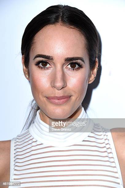Personality Louise Roe attends The Daily Front Row's 1st Annual Fashion Los Angeles Awards at Sunset Tower Hotel on January 22, 2015 in West...
