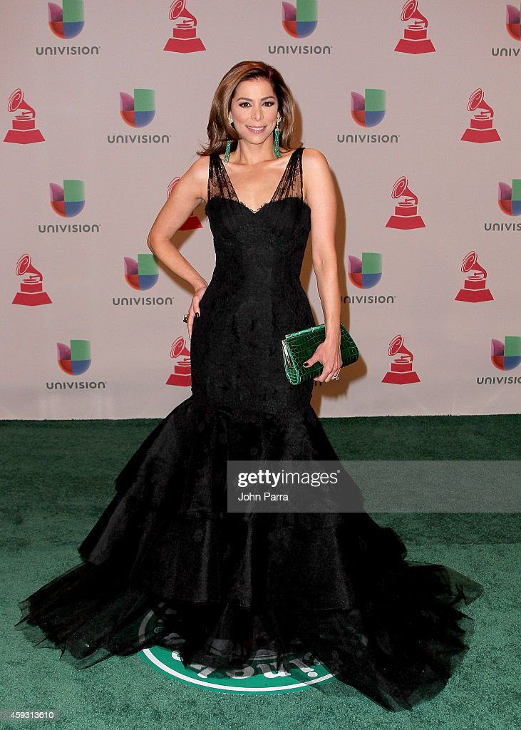 TV personality Lourdes Stephen attends the 15th annual Latin GRAMMY Awards at the MGM Grand Garden Arena on November 20, 2014 in Las Vegas, Nevada.