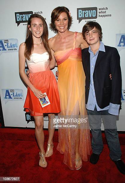 TV personality LuAnn de Lesseps and guests attend Bravo's 1st AList Awards at the Hammerstein Ballroom on June 4 2008 in New York City