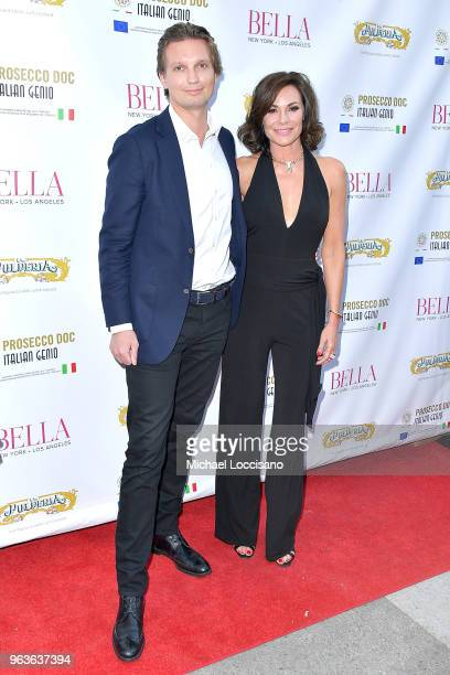 TV personality Luann de Lesseps attend Bella New York magazine's beauty cover launch at La Pulperia Restaurant on May 29 2018 in New York City