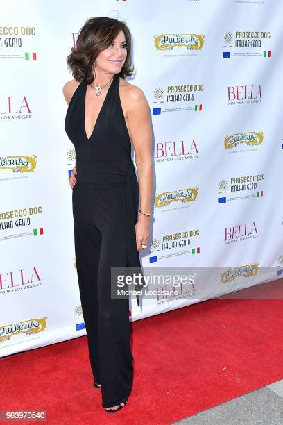 TV personality Luann de Lesseps attends Bella New York magazine's beauty cover launch at La Pulperia Restaurant on May 29 2018 in New York City