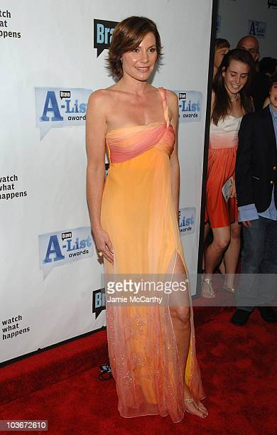 TV personality LuAnn de Lesseps attends Bravo's 1st AList Awards at the Hammerstein Ballroom on June 4 2008 in New York City