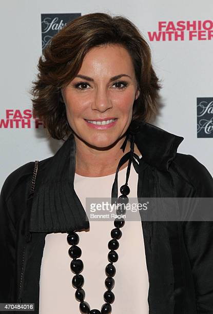 TV personality LuAnn de Lesseps attends Fashion Lives Book Launch at Saks Fifth Avenue on April 20 2015 in New York City