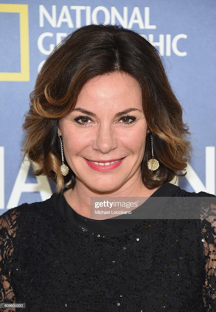 TV personality Luann de Lesseps attends National Geographic's 'Years Of Living Dangerously' new season world premiere at the American Museum of Natural History on September 21, 2016 in New York City.