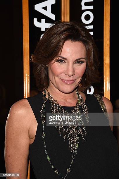 Personality LuAnn de Lesseps attends the 2014 amfAR generationCURE Holiday Party at The Standard Highline on December 2 2014 in New York City