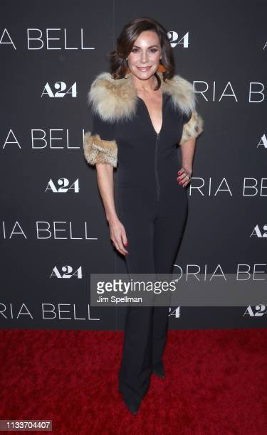 TV personality Luann de Lesseps attends the Gloria Bell New York screening at Museum of Modern Art on March 04 2019 in New York City
