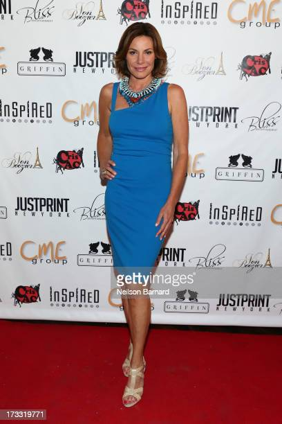 TV personality LuAnn de Lesseps attends the 'Inspired In New York' Event on July 11 2013 in New York United States
