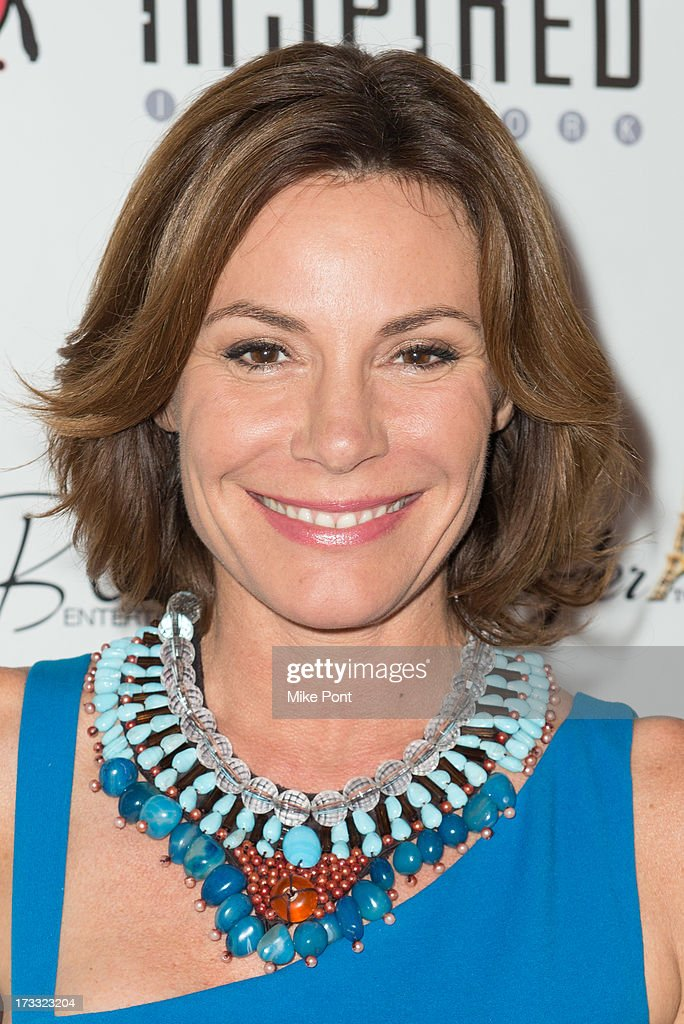 TV personality LuAnn de Lesseps attends the 'Inspired In New York' event on July 11, 2013 in New York, United States.