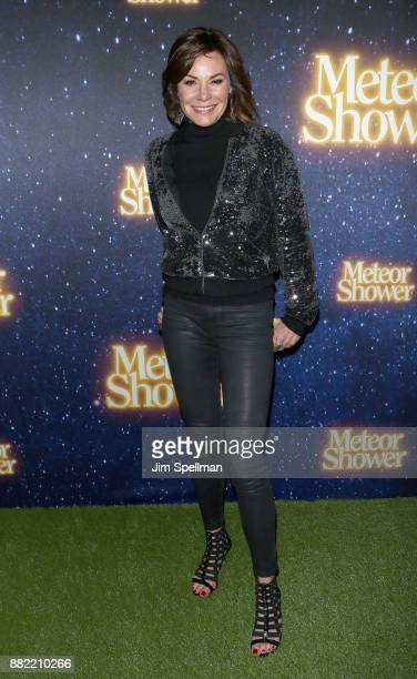 TV personality Luann de Lesseps attends the 'Meteor Shower' Broadway opening night at the Booth Theatre on November 29 2017 in New York City
