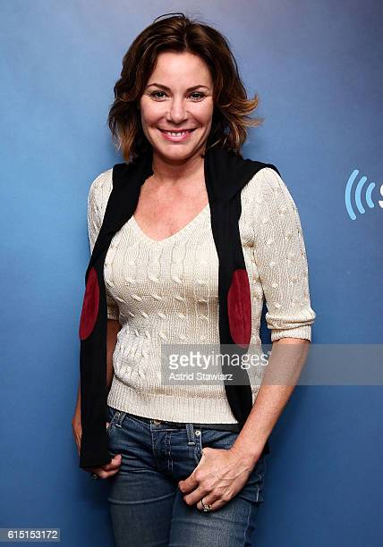 TV personality Luann de Lesseps visits the SiriusXM Studios on October 17 2016 in New York City