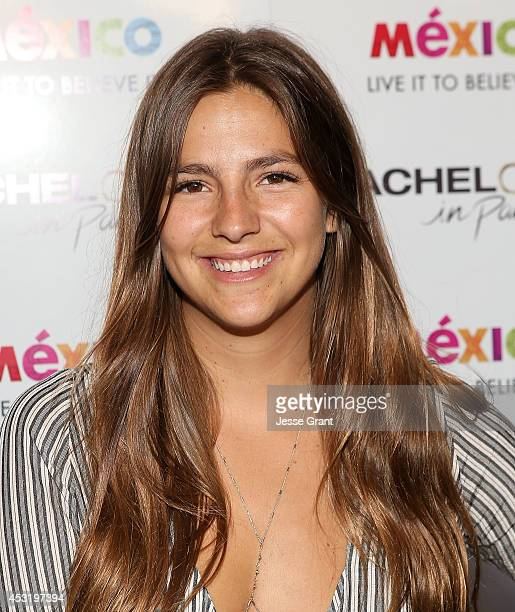 TV personality Lucy Aragon attends ABC's Bachelor In Paradise Premiere Party held at Mixology101 Planet Dailies on August 4 2014 in Los Angeles...