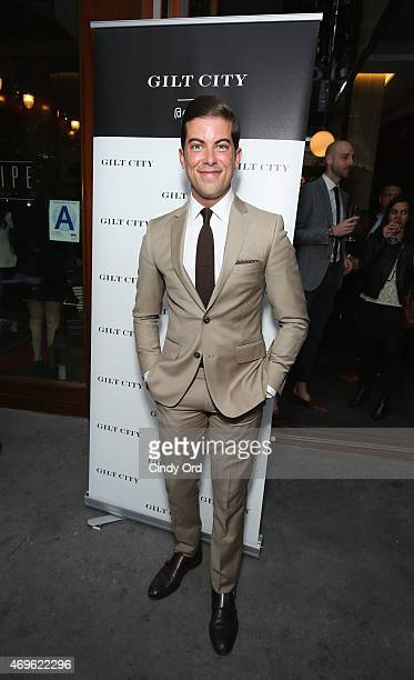 TV personality Luis D Ortiz attends the Gilt City celebration of Fredrik Eklund's new book 'The Sell The Secrets Of Selling Anything To Anyone' on...