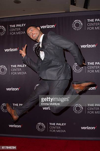 TV personality Luis Sandoval arrives at The Paley Center for Media's Hollywood Tribute to Hispanic Achievements in Television event at the Beverly...