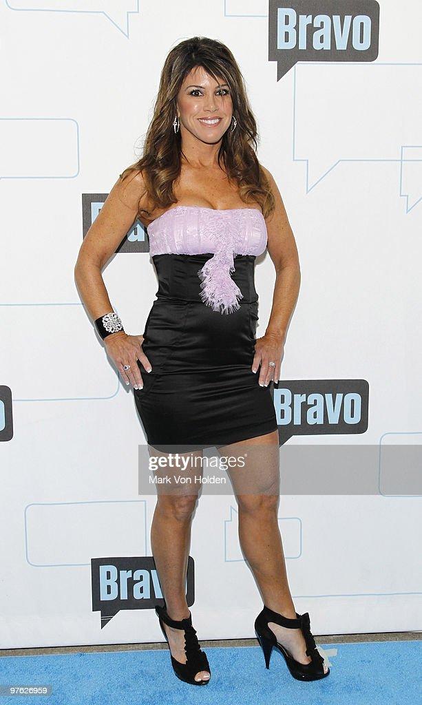 TV Personality Lynne Curtin Attends Bravou0027s 2010 Upfront Party At Skylight  Studio On March 10 2010