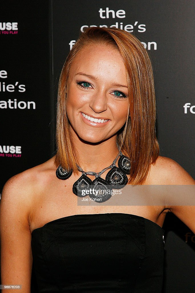 TV personality Maci Bookout attends The Candie's Foundation Event To Prevent at Cipriani 42nd Street on May 5, 2010 in New York City.
