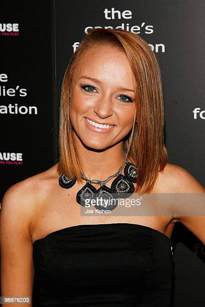 TV personality Maci Bookout attends The Candie's Foundation Event To Prevent at Cipriani 42nd Street on May 5 2010 in New York City