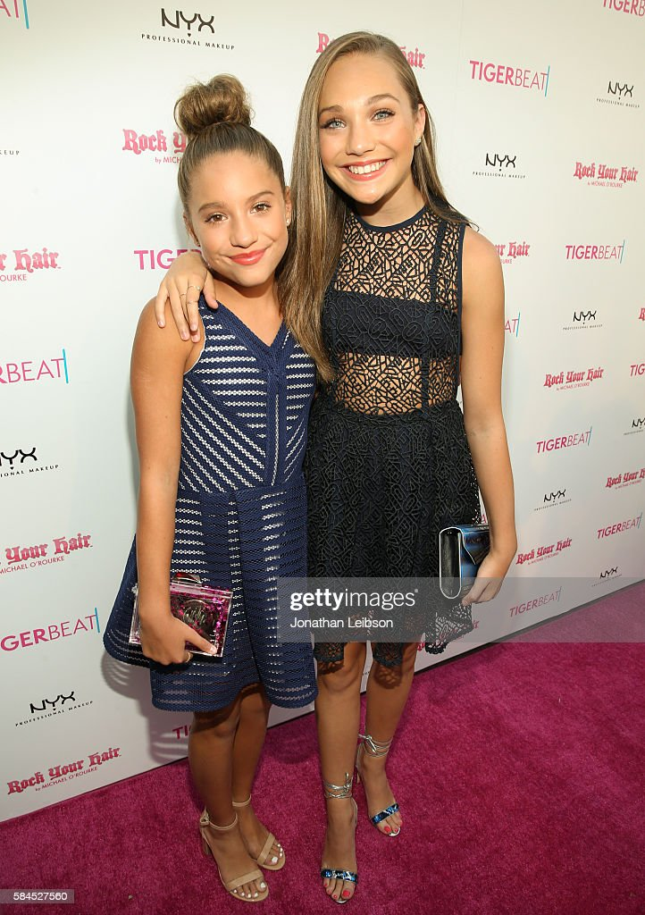 TigerBeat's Official Teen Choice Awards Pre-Party Sponsored by NYX Professional Makeup and Rock Your Hair : News Photo