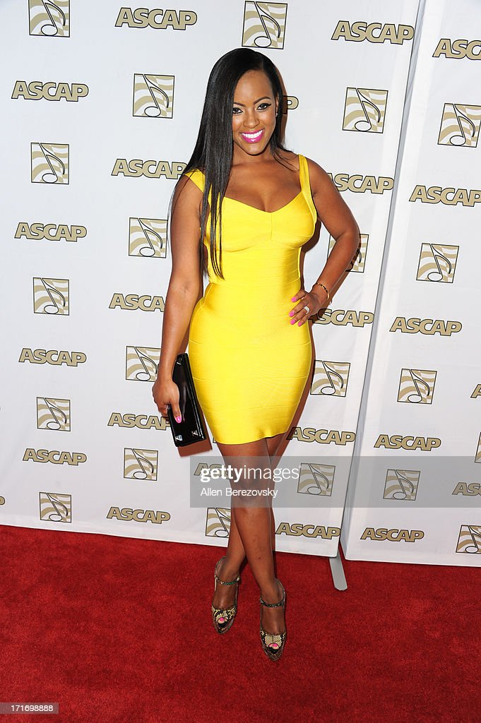 TV personality Malaysia Pargo arrives at ASCAP's 26th Annual Rhythm & Soul Music Awards at The Beverly Hilton Hotel on June 27, 2013 in Beverly Hills, California.