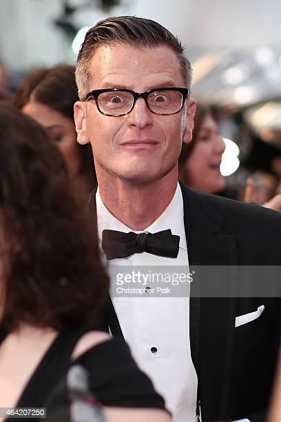 TV personality Marc Malkin attends the 87th Annual Academy Awards at Hollywood Highland Center on February 22 2015 in Hollywood California