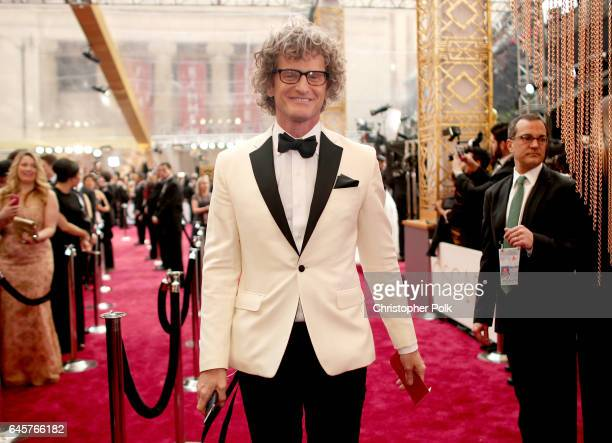 TV personality Marc Malkin attends the 89th Annual Academy Awards at Hollywood Highland Center on February 26 2017 in Hollywood California