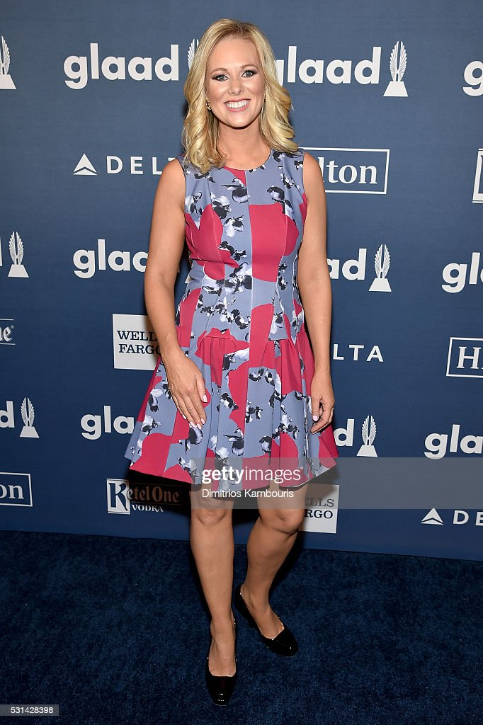 TV personality Margaret Hoover attends the 27th Annual GLAAD Media Awards in New York on May 14, 2016 in New York City.