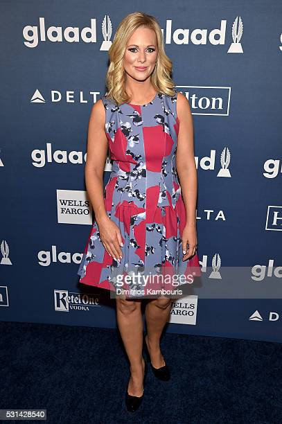 TV personality Margaret Hoover attends the 27th Annual GLAAD Media Awards in New York on May 14 2016 in New York City