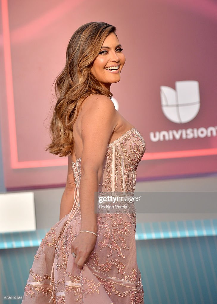 TV personality Maria Chiquinquira Delgado Diaz attends The 17th Annual Latin Grammy Awards at T-Mobile Arena on November 17, 2016 in Las Vegas, Nevada.