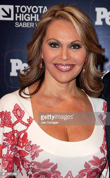 TV personality Maria Elena Salinas arrives at People en Espanol 50 MOST BEAUTIFUL issue a special performance by one of 2008's mas bellos Daddy...