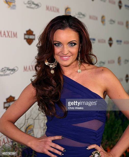 Personality Maria Kanellis arrives at the 11th annual Maxim Hot 100 Party with Harley-Davidson, ABSOLUT VODKA, Ed Hardy Fragrances, and ROGAINE held...
