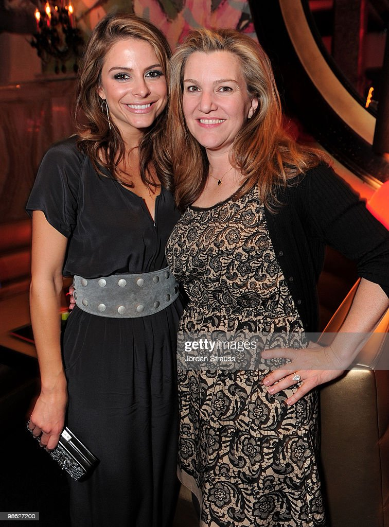 TV personality Maria Menounos and Vanity Fair's Krista Smith attend the TCM Classic Film Festival Vanity Fair after party held at Kress on April 22, 2010 in Hollywood, California. 19825_007_JS_0139.JPG