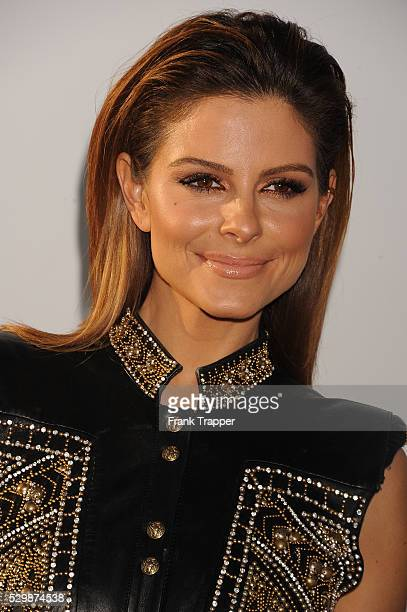 TV personality Maria Menounos arrives at the premiere of Furious 7 held at the TCL Chinese Theater in Hollywood
