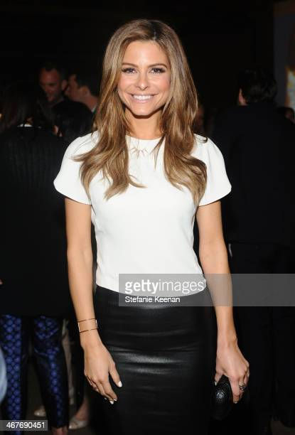 TV personality Maria Menounos attends Hollywood Stands Up To Cancer Event with contributors American Cancer Society and Bristol Myers Squibb hosted...