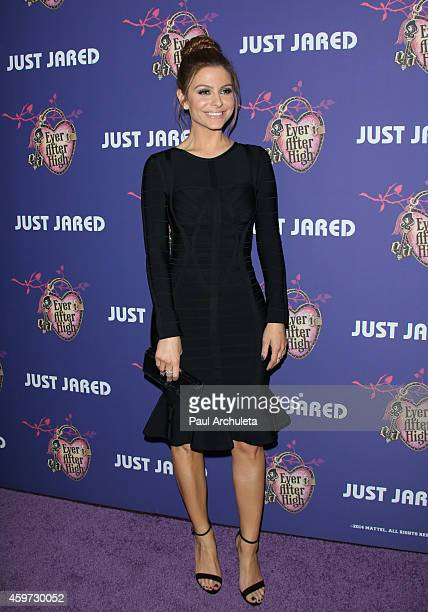 Personality Maria Menounos attends Just Jared's Homecoming Dance at the El Rey Theatre on November 20, 2014 in Los Angeles, California.