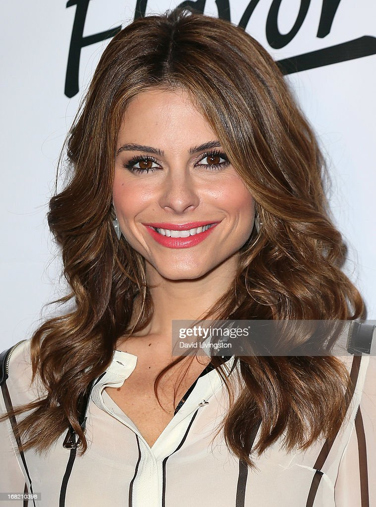 TV personality Maria Menounos attends Lay's 'Do Us a Flavor' contest hosted by Eva Longoria at Beso on May 6, 2013 in Hollywood, California.