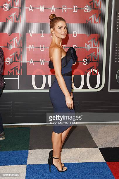 TV personality Maria Menounos attends the 2015 MTV Video Music Awards at Microsoft Theater on August 30 2015 in Los Angeles California