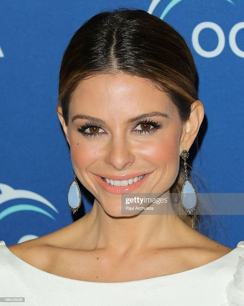 TV Personality Maria Menounos attends the Oceana Partners Award Gala at the Regent Beverly Wilshire Hotel on October 30, 2013 in Beverly Hills, California.