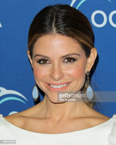 Personality Maria Menounos attends the Oceana Partners Award Gala at the Regent Beverly Wilshire Hotel on October 30, 2013 in Beverly Hills,...