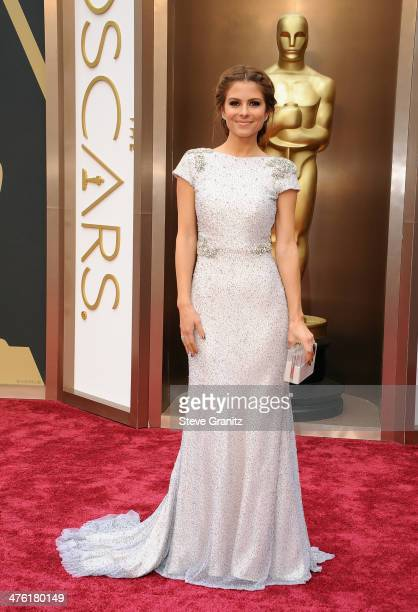 TV personality Maria Menounos attends the Oscars held at Hollywood Highland Center on March 2 2014 in Hollywood California