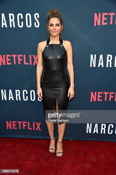 Personality Maria Menounos attends the Premiere of Netflix's Narcos Season 2 at ArcLight Cinemas on August 24 2016 in Hollywood California